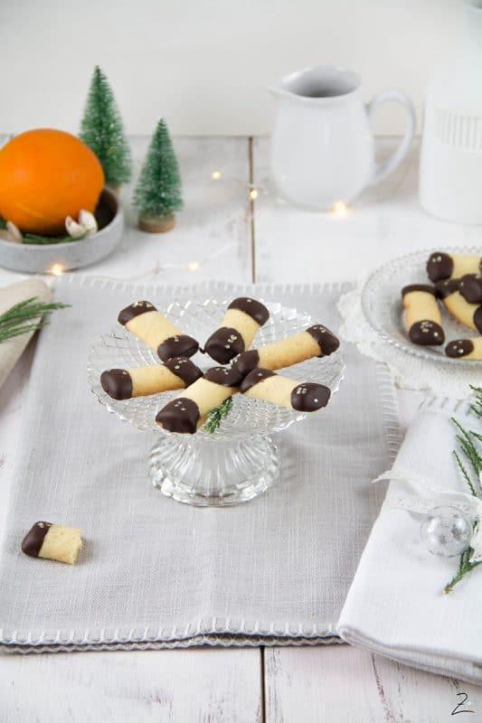 Rezept für Orangenstäbchen mit Schokolade © Zimtblume