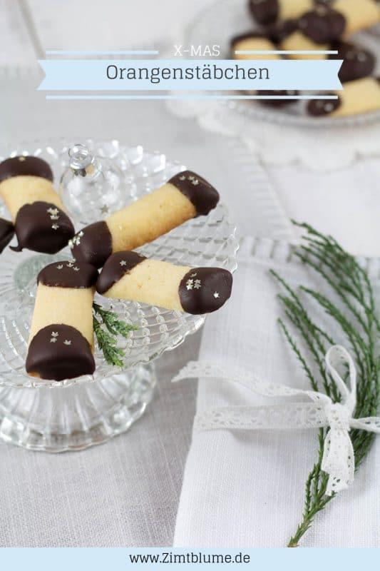 Orangenstäbchen mit Schokolade © Zimtblume