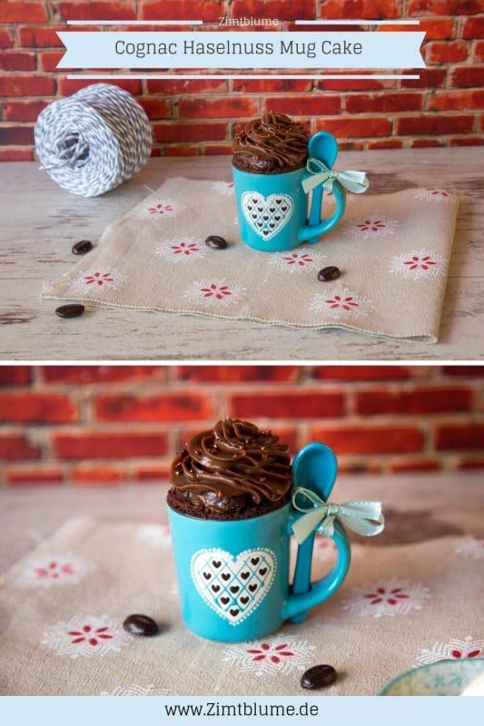 Rezept für Haselnuss Mug Cake - Tassenkuchen