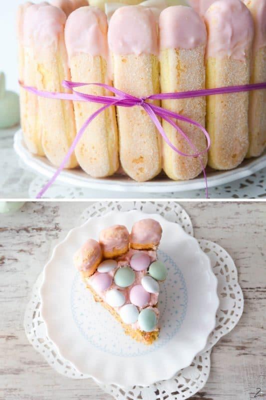 Karottenkuchen - Saftige Oster Charlotte
