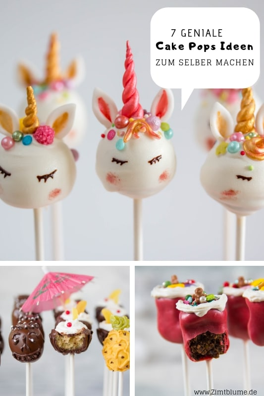 Cake Pops Rezepte selber machen