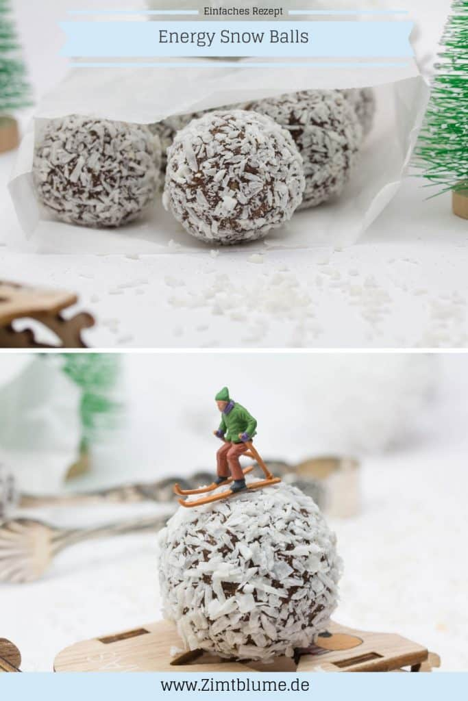 Rezept Energy Snow Balls