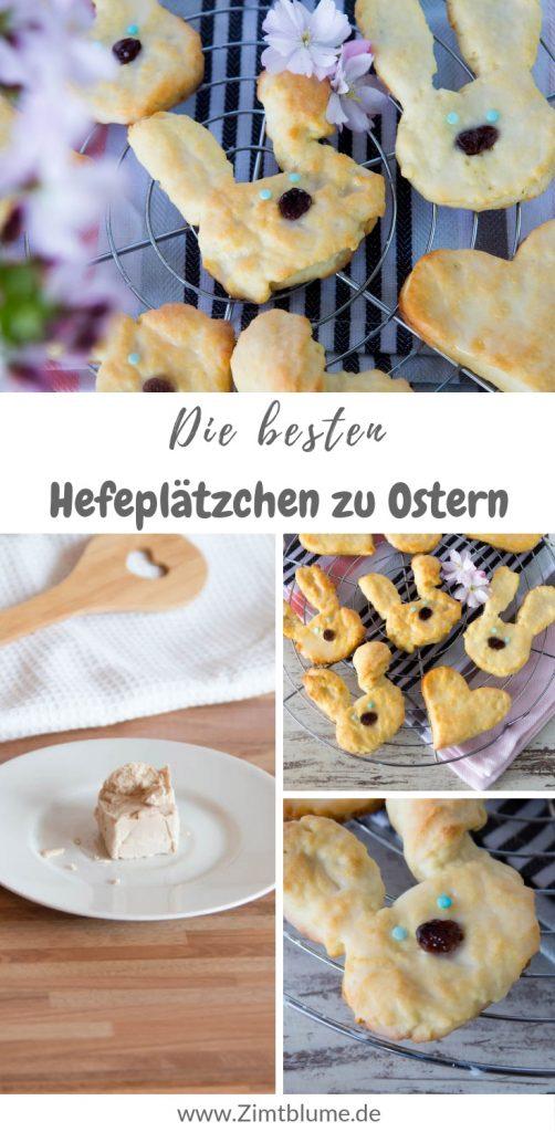 Hefeplätzchen backen: Rezept für zarte Osterhasen Kekse