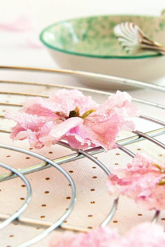 Rezept für kandierte Blüten