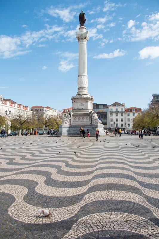 Portugal Urlaub: Praça de D. Pedro IV
