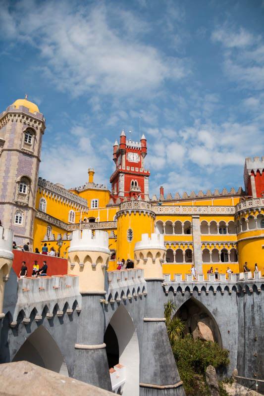 Der Pena Palast in Sintra