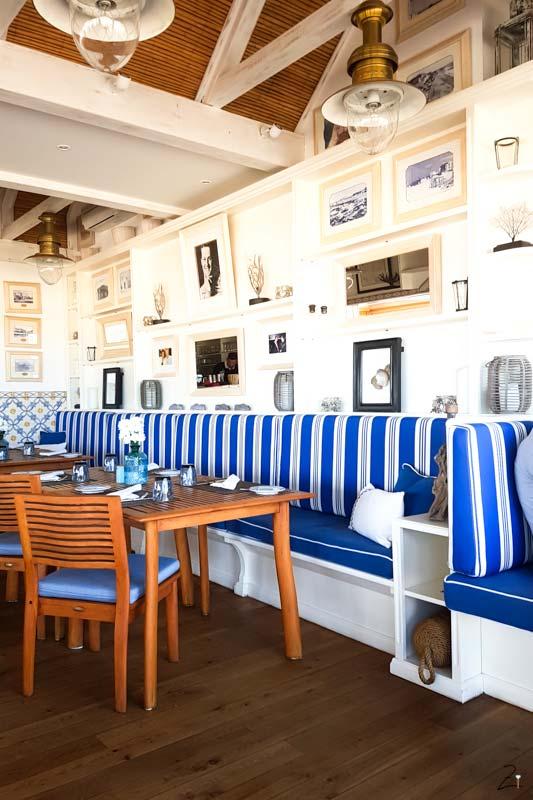 Typisches Restaurant in Albufeira