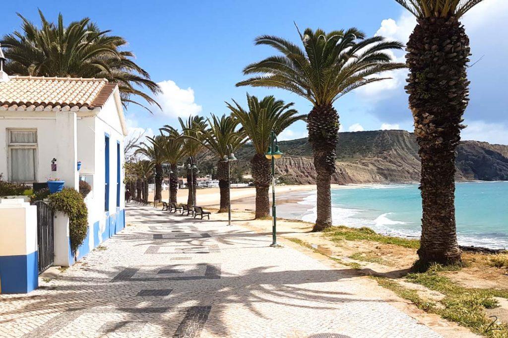 Stadt Luz an der Algarve