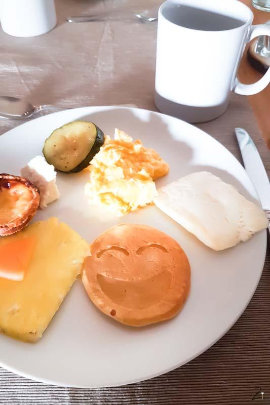 Frühstück Pancakes Herdade Do Touril