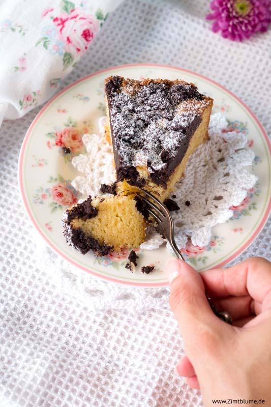 Kuchen mit Schokostreuseln