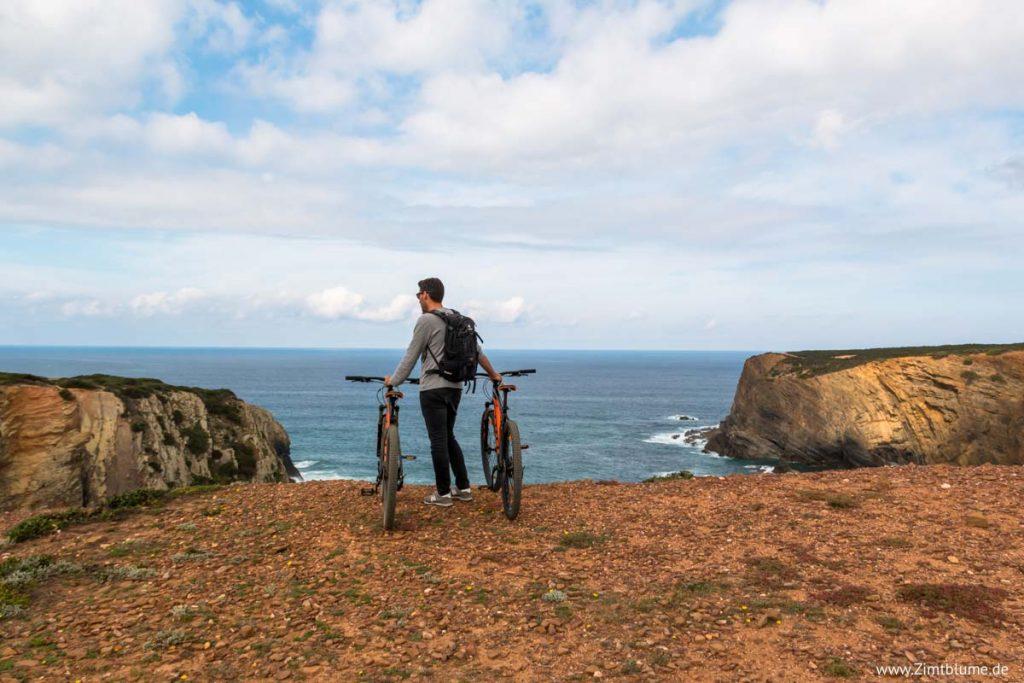 Fahrradtour Zambujeira do Mar