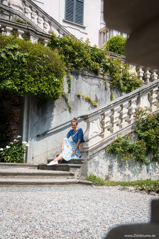 Ausflüge am Comer See - Treppe Villa Carlotta