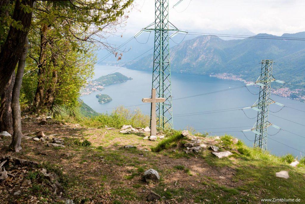 Gipfelkreuz Belvedere, Pigra