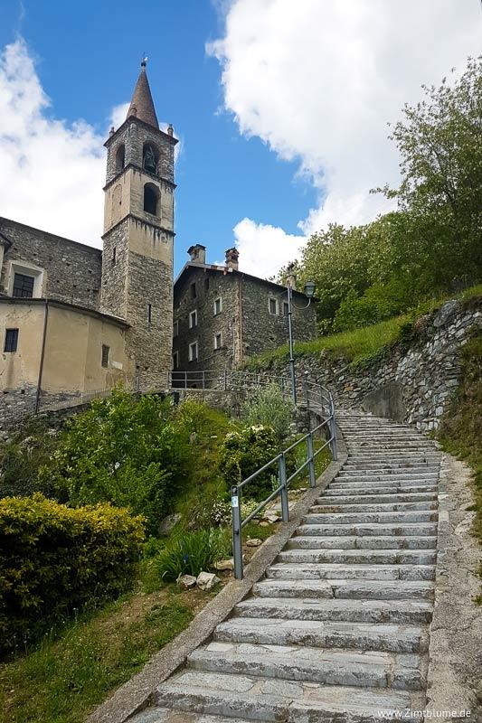 Kirche Trezzone, Comer See
