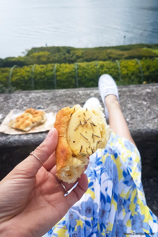 Focaccia mit Kartoffeln