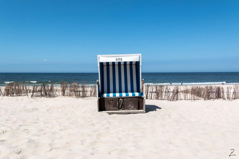 Typischer Strandkorb Sylt