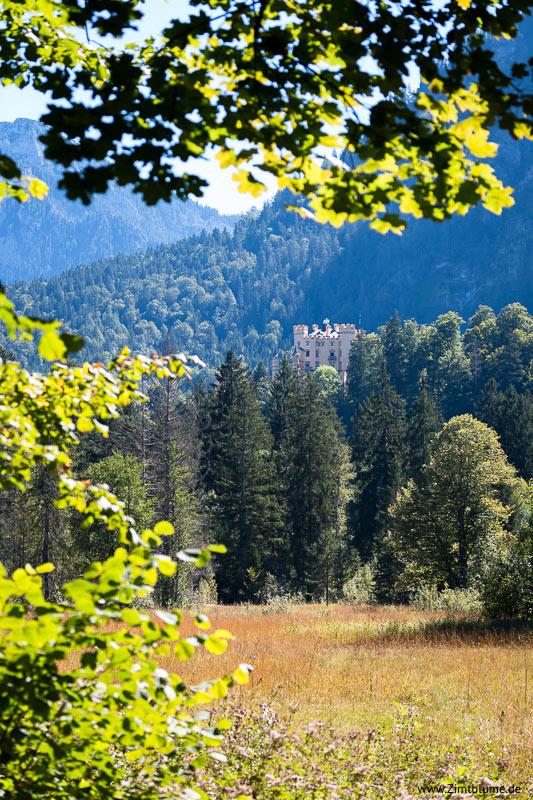 Schloss Hohenschwangau beim Alpsee Rundweg