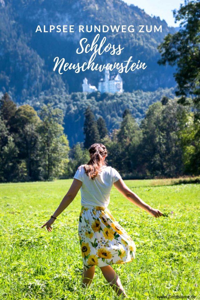 Alpsee Rundweg Schloss Neuschwanstein