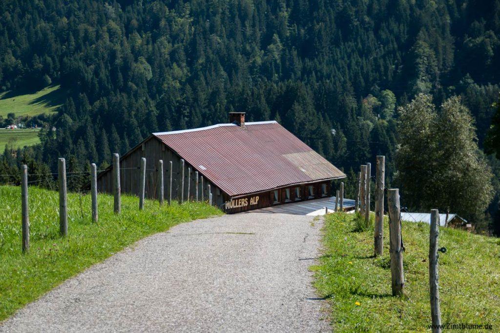 Müllers Alp Breitachklamm in Oberstdorf