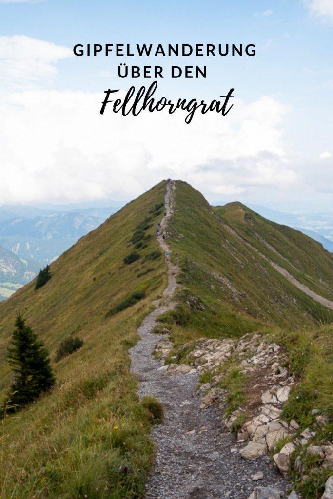 Gipfelwanderung über den Fellhorngrat