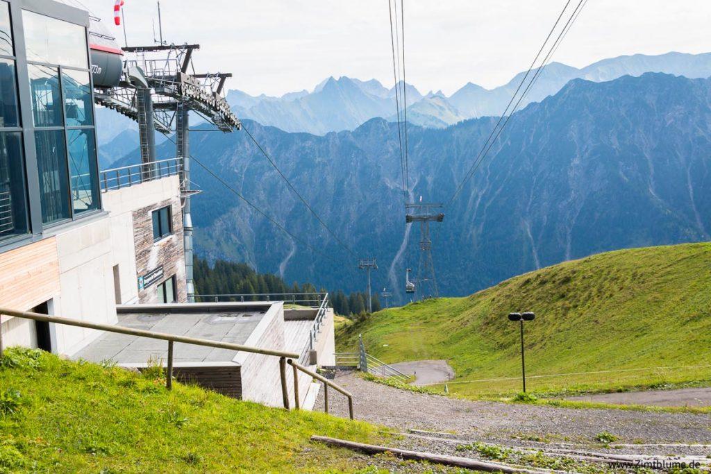 Fellhorn Gipfelbahn Station Oberstdorf