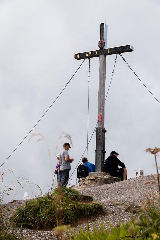 Gipfelkreuz Fellhorn