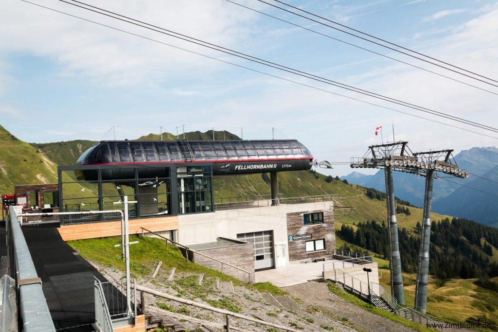Fellhorn Gipfelbahn Station