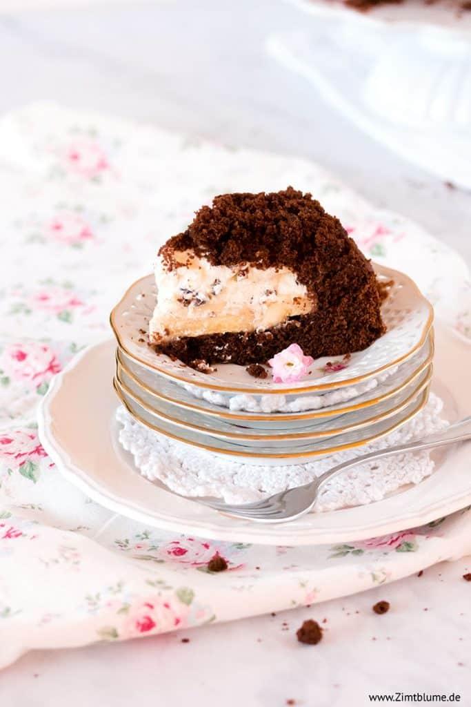 Kuchenstück Maulwurfkuchen