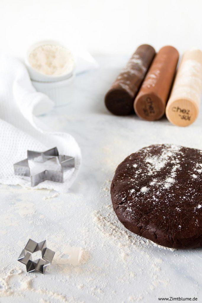 Schokoladenmürbeteig