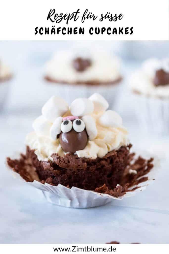 Schäfchen Cupcakes Pinterest