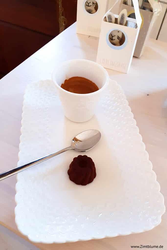 Espresso mit Goufrais in der Honig Galerie Heldt
