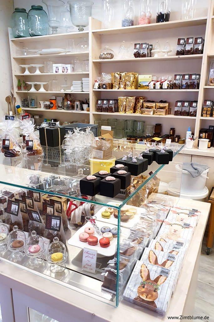 Ladentheke in der Honig Galerie Heldt