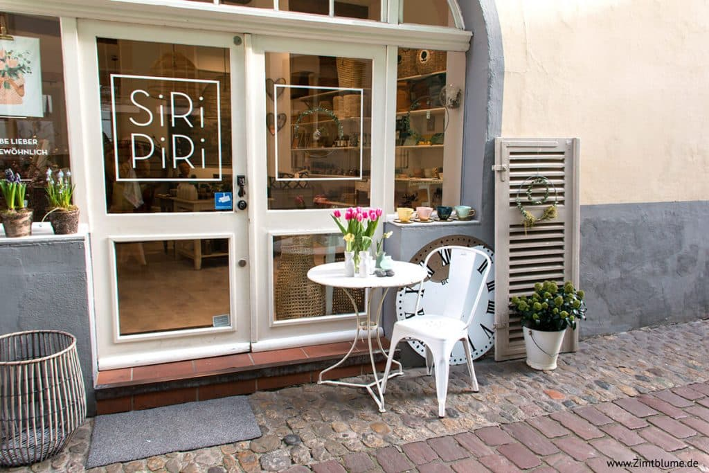 Lieblingsladen Siri Piri in Freiburg, Eingang Konviktstraße