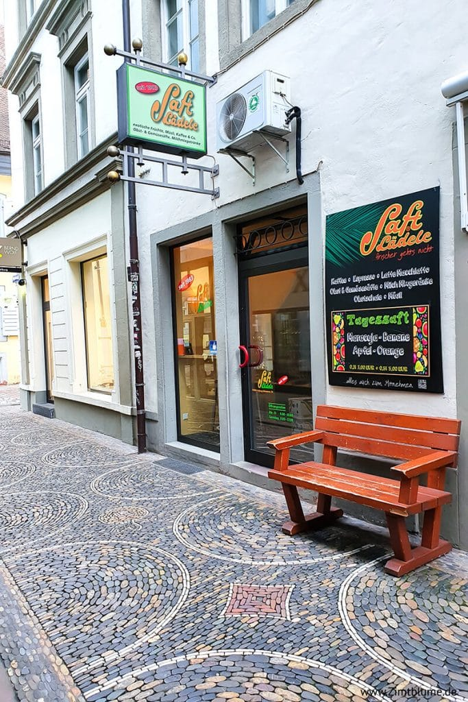 Lieblingsladen Saftlädele in der Schusterstraße