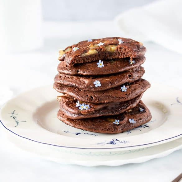 Leckeres Schokoladen Pancakes Rezept
