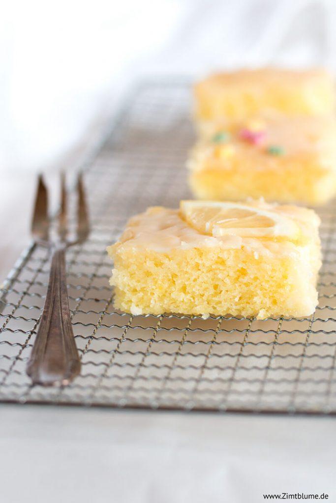 Rezept für den besten Zitronenkuchen vom Blech
