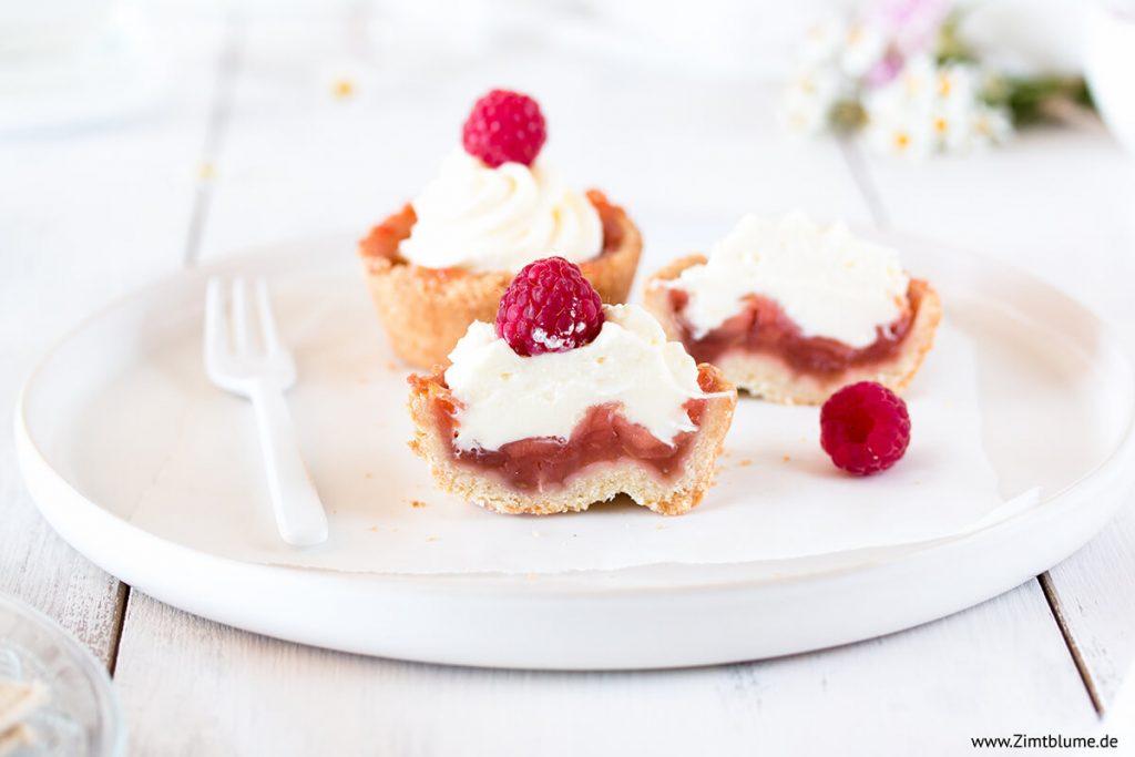 Anschnitt Cupcakes mit Rosewein