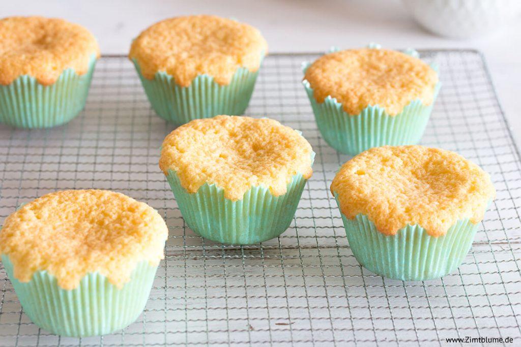 Grundrezept Muffins für Cloud Cupcakes