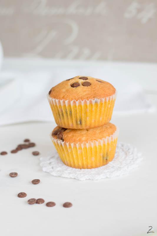 Grundrezept Muffins mit Schokostückchen