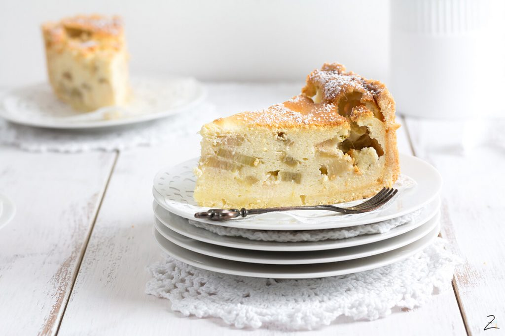 Kuchen Rezept mit Rhabarber