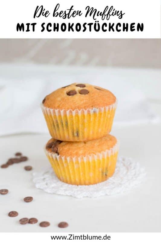 Muffins mit Schokodrops