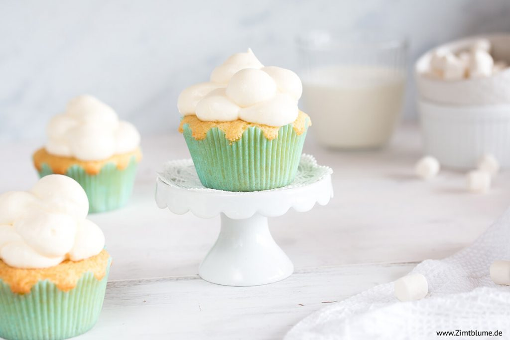 Rezept Wolken Cupcakes backen