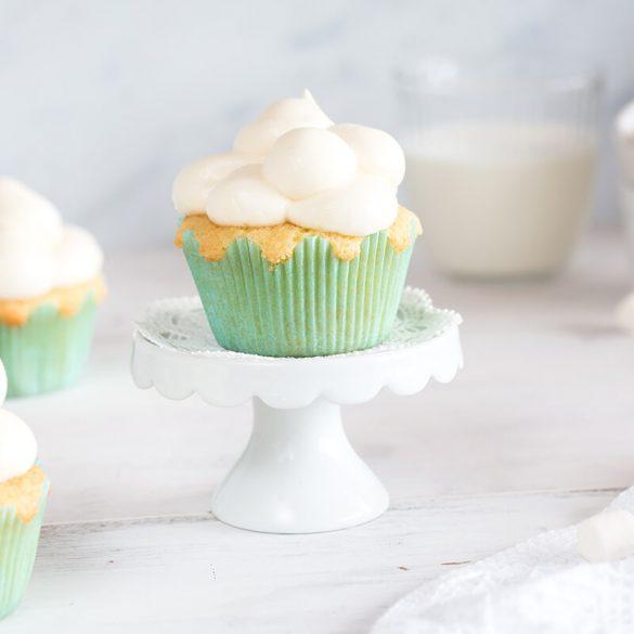 Rezept Wolken Cupcakes backen