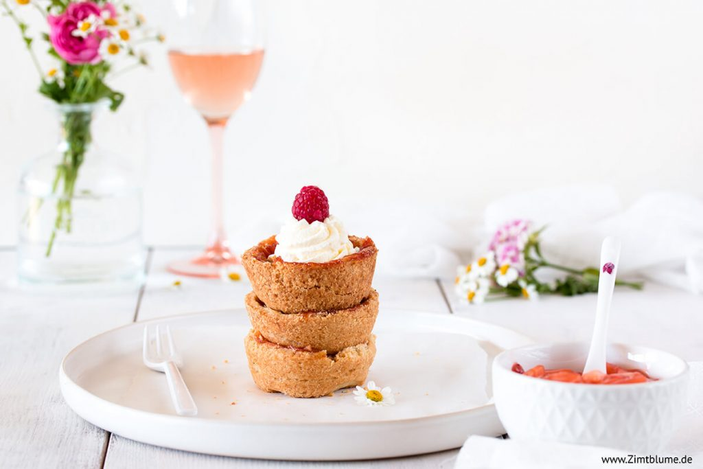 Saftige Apfelwein Cupcakes mit Mürbeteig