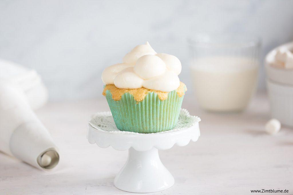 Wolken Cupcakes-Rezept