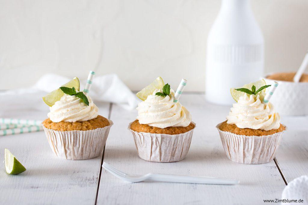 Rezept für Mojito Cupcakes