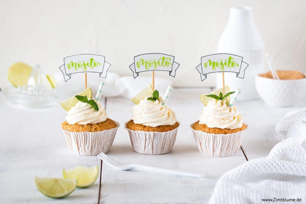 Schnelles Mojito Cupcakes Rezept