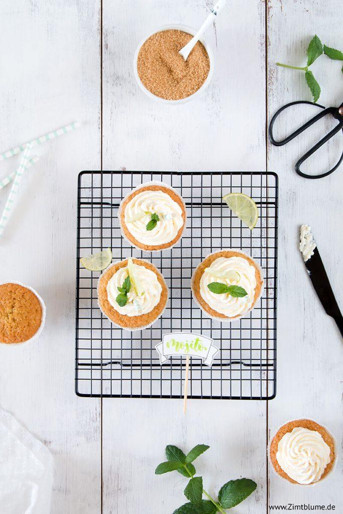 Zutaten für Mojito Cupcakes