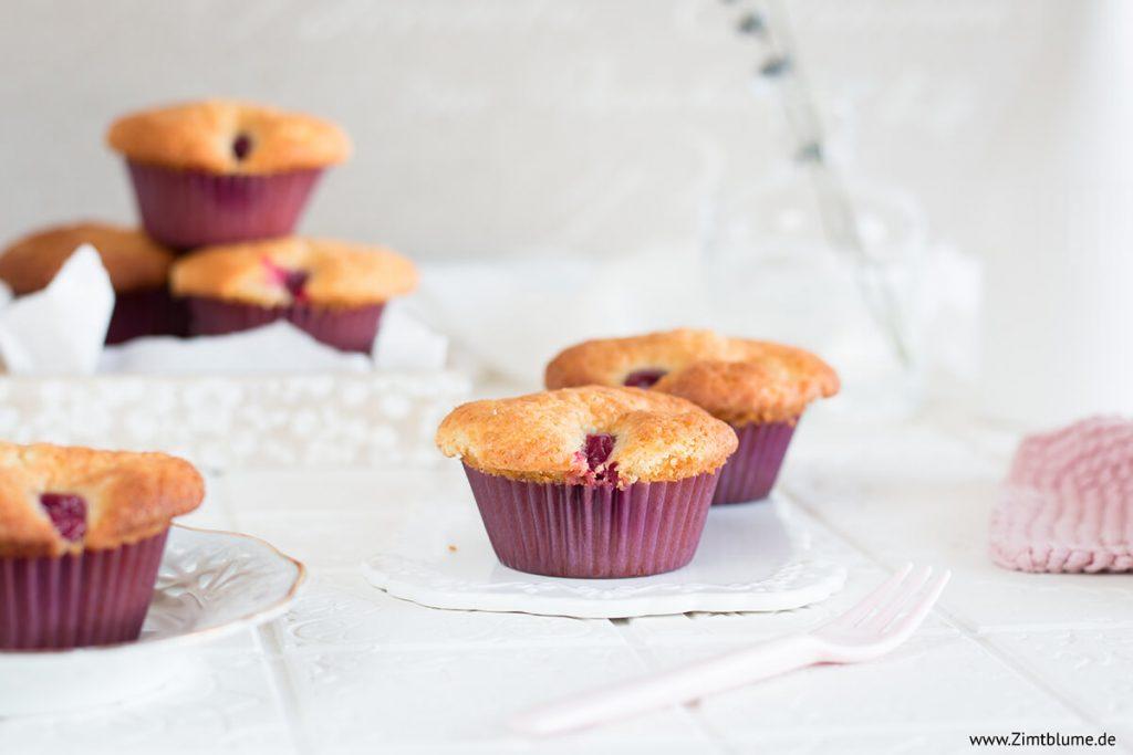 Einfache Stachelbeer Muffins