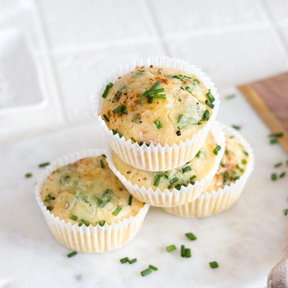 Herzhafte Schinken Käse Muffins